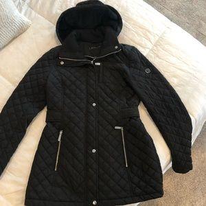 Women's Calvin Klein Hooded Quilted Coat